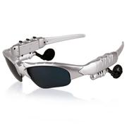台硕 智能蓝牙眼镜太阳镜 立体声蓝牙耳机 开车必备 安卓苹果手机通用 白色