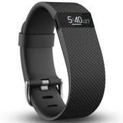 Fitbit Charge HR 智能乐活心率手环 心率实时监测 自动睡眠记录 来电显示 运动蓝牙手表计步器 黑色 S