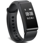 华为 手环B2 (蓝牙耳机与智能手环完美结合+金属机身+触控屏幕+TPU腕带) 运动版 黑色