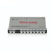 gelong 歌龙汽车音响均衡器发烧升级车载均衡器EQ 7段调节均衡器音量