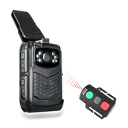 车品汇 HD50 便携执法摄像机 随身现场执法仪 高清专业执法记录仪 带遥控 P7 32G 警用加强版