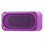 锐族 无线蓝牙音箱户外便携插卡运动迷你小音响低音炮 防摔抗压 玫瑰紫