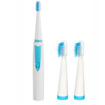 瑞仕康 电动牙刷成人 便携式超静音防水牙刷超软刷头 R-103 蓝色产品图片主图