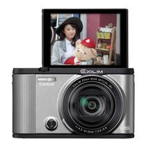 卡西欧 Casio/EX-ZR2000自拍神器美颜数码相机18倍大变焦高清照相机 银色产品图片主图