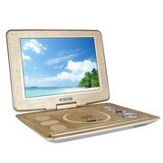 先科 移动DVD14寸便携式evd影碟机高清带电视播放器 金色