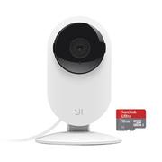 小米 智能摄像头 小蚁智能摄像机 无线WiFi高清远程视频监控 16G内存卡+ 夜视版
