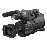 索尼 HXR-MC2500 mc2500C 肩扛式高清摄录一体机 婚庆摄像机 黑色