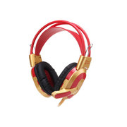 今盾 抗暴力耳机耳麦 V6S 红