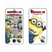 利乐普(LEAP) 苹果4s卡通图案彩膜 iphone4/4s屏保彩贴 手机保护膜高清彩膜 卑鄙的我1