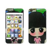 利乐普(LEAP) 苹果4s卡通图案彩膜 iphone4/4s屏保彩贴 手机保护膜高清彩膜 可爱小希