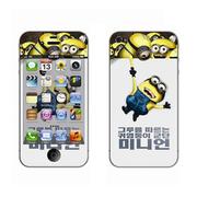 利乐普(LEAP) 苹果5s卡通图案彩膜 iphone5/5s屏保彩贴 手机保护膜高清彩膜 卑鄙的我2