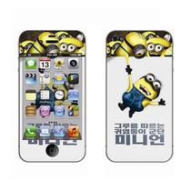 利乐普(LEAP) 苹果5s卡通图案彩膜 iphone5/5s屏保彩贴 手机保护膜高清彩膜 卑鄙的我2产品图片主图