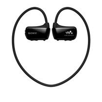 索尼 送耳机包  (SONY) NWZ-W273S 4G头戴式运动型MP3播放器跑步防水游泳 黑色产品图片主图
