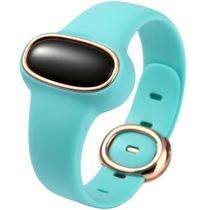 为谱(VIPOSE) Bi-06 幸运石孕妇安全手环 智能监测腕带 防辐射提醒 成人儿童通用健康计步器 湖水绿产品图片主图