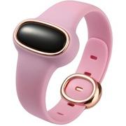 为谱(VIPOSE) Bi-04 幸运石孕妇安全手环 智能监测腕带 防辐射提醒 成人儿童通用健康计步器 粉色