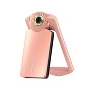 卡西欧 TR550 数码相机 粉色(1110万像素 21mm广角 自拍神器)