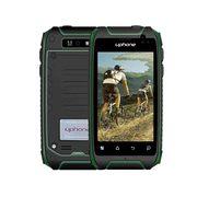 优豊 U5+ 移动/联通2G三防智能手机 双卡双待 绿色 2G版