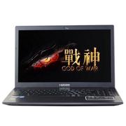 神舟 战神K4-I7极速版 15.6寸笔记本(I7-4710QM/8G/128G SSD/GTX940M/灰色)