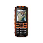 优豊 U3+ 移动/联通2G三防手机 双卡双待 橙色