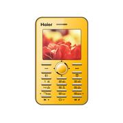 海尔 M312 移动/联通2G 儿童手机 卡片手机 玫瑰金