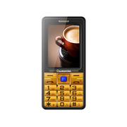 长虹 GA988 移动/联通2G信号增强老人手机 双卡双待 金色