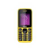 海尔 M311 移动/联通2G 直板老人手机儿童手机 柠檬黄