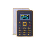 apphome K5 迷你卡片小手机新款个性袖珍薄儿童学生男女卡片小手机 金色 普通版