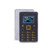 apphome K5 迷你卡片小手机新款个性袖珍薄儿童学生男女卡片小手机 银色 4G版