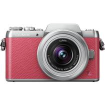 松下 Lumix DMC-GF7 微型单电双镜套机 粉色(12-32mm+35-100mm 手动变焦 GF6升级版 DMC-GF7WGK-P)产品图片主图