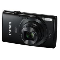 佳能 IXUS170 数码相机 黑色(2000万像素 12倍光学变焦 25mm超广角)产品图片主图