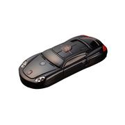 apphome 新款创意迷你小汽车直板小手机双卡双待学生儿童个性袖珍打火机手机 黑色