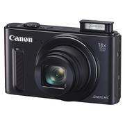 佳能 PowerShot SX610 HS 数码相机 黑色(2020万像素 18倍光学变焦)