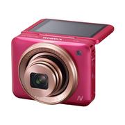 佳能 PowerShot N2 数码相机 粉色(自拍相机 180°上翻式触摸屏 1610万有效像素 wifi传输)