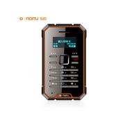 乐目 LMD1时尚迷你卡片手机、移动联通2G手机、携带方便、通话清晰 橙黑