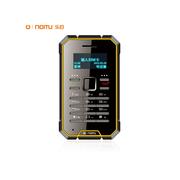 乐目 LMD1时尚迷你卡片手机、移动联通2G手机、携带方便、通话清晰 极限黄黑