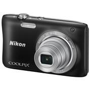 尼康 Coolpix S2900 便携数码相机 黑色(2005万像素 2.7英寸屏 5倍光学变焦 26mm广角)