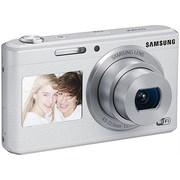 三星 智能WIFI双屏数码相机 DV180F(白色)