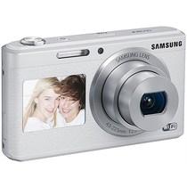 三星 智能WIFI双屏数码相机 DV180F(白色)产品图片主图