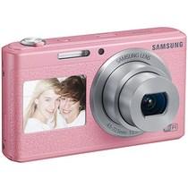三星 智能WIFI双屏数码相机 DV180F(粉色)产品图片主图