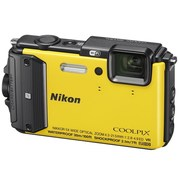 尼康 COOLPIX AW130s 数码相机 黄色