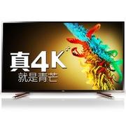TCL  D55A910U 55英寸安卓4.2超高清4K芒果TV智能家庭云液晶电视(黑橙)