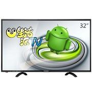 熊猫 LE32D60S U派32英寸 夏普技术屏 安卓4.4+六核智能云电视(黑色)
