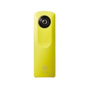 理光 THETA M15 黄色 360°全景影像 WIFI、一键全景、手机专用APP、亲友分享