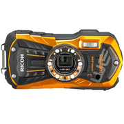 理光 WG-30 户外运动三防相机 火焰橙 WIFI版 全高清视频拍摄