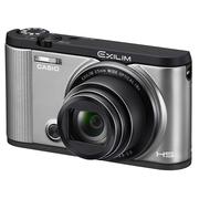 卡西欧 ZR2000 数码相机 银色 (1610万像素 3.0英寸液晶屏 12倍光学变焦 25mm广角)