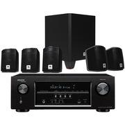 JBL CINEMA510CN 天龙 AVR-S500功放 5.1家庭影院套装 (黑色)