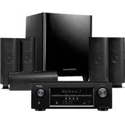 哈曼卡顿 HKTS 30BQ+天龙 AVR-S500功放 5.1家庭影院套装 (黑色)