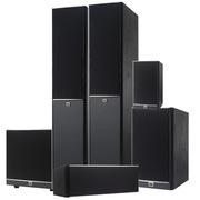 JBL Arena 180BK 6件套 Arena系列5.1声道电视电脑木质HIFI家庭影院音响套装 (黑色)