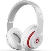 Beats Studio Wireless 录音师蓝牙无线版 头戴包耳式耳机 Hi-Fi降噪 白色 带麦双模