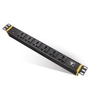 突破 PDU工业级机柜专用插座/6位3米2.5平方线万用孔16A插头/07TG130201/插座/插线板/插排